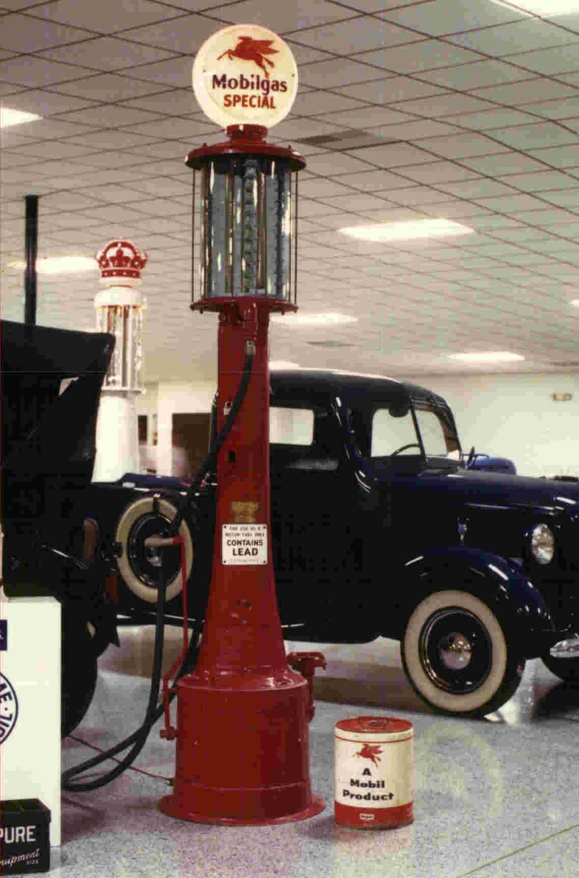 Restored Visible Pumps